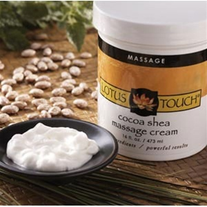 Lotus Touch Cocoa-Shea Massage Cream (183 0093)