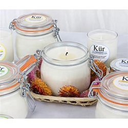Kur 100% Soy Aromatherapy Candles 16 oz Glass with Snap Lid (253 0028)