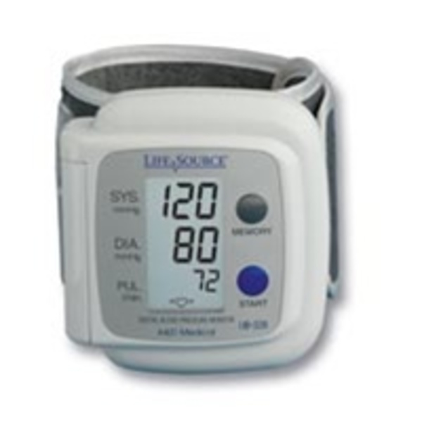 Lifesource Auto Inflate Wrist Blood Pressure Cuff (735 0086)