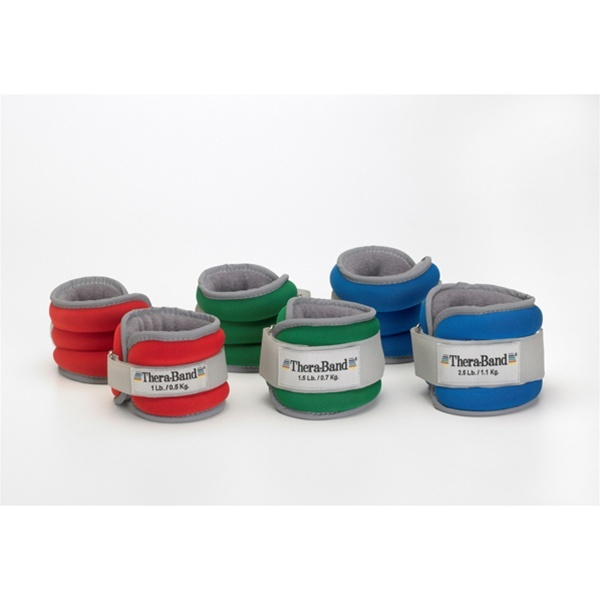 Thera-Band Comfort Fit Ankle & Wrist Weight Sets (847 0206)