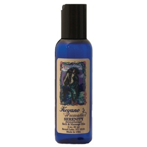 Keyano Aromatherapy Massage Oil / 2 oz. / Serenity (224 0216)