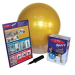 Fitball Sport Firm / Yellow 45cm (140 0033)