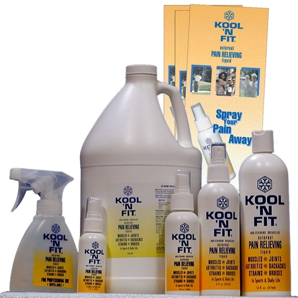 Kool 'N Fit Pain Relieving Formula (228 0260)