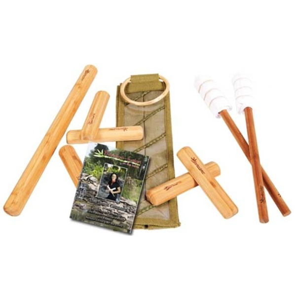 Warm Bamboo Stick Set with DVD by Bamboo Fusion (230 0362)