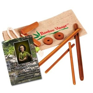 Facial Bamboo Stick Set with DVD by Bamboo Fusion (230 0364)