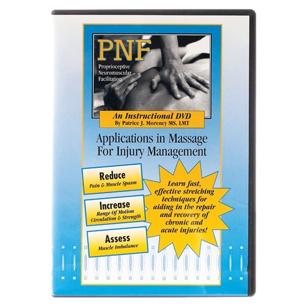 PNF - Injury Management Massage Technique DVD (539 0260)