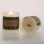 Soy Crackle Candle - Amber and Cedar (253 0053 19)