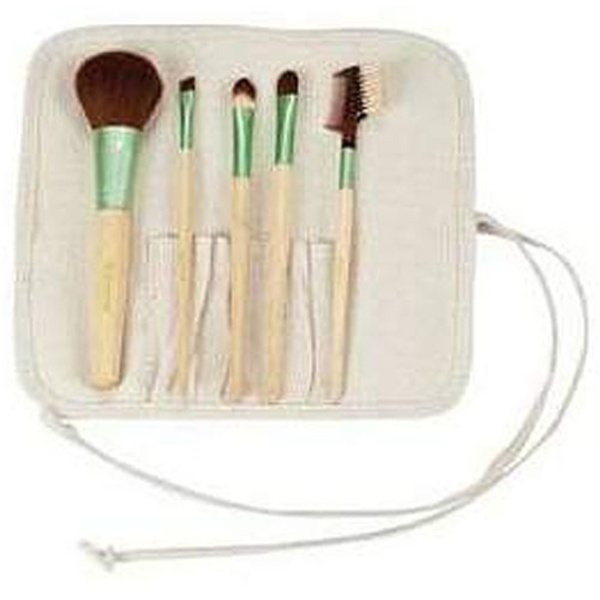 Bamboo Cosmetic Brush Set 5 Brushes (283 0642)