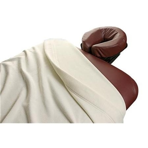 "Polar Fleece Blanket - White or Natural 60"" L x 88"" W (055 0013)"