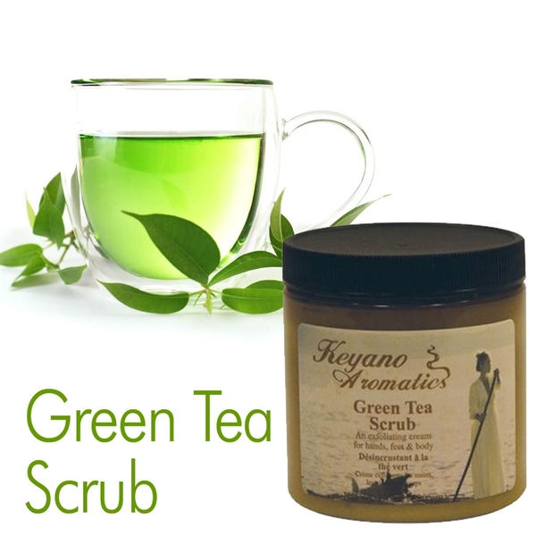 Green Tea Scrub by Keyano