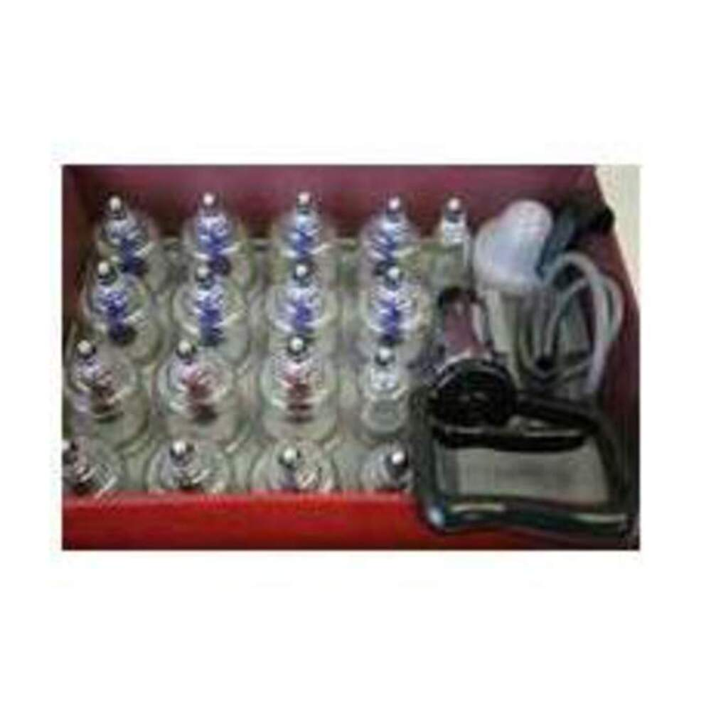 Acu point cupping set with magnets in a carrying case 150 for Acu salon prices