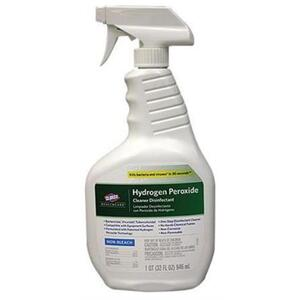 Clorox Healthcare® Hydrogen Peroxide Cleaner Disinfectants - 32 oz. Spray (025 1005 01)