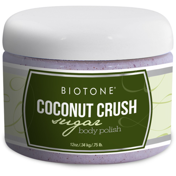 Biotone Sugar Body Polish - Coconut Crush 12 oz. (285 0140 11 01)