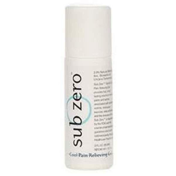 SubZero™ Cool Pain Relieving Gel - Topical Analgesic 3 oz. Roll-On (228 5019 02)