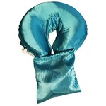 Spa Pocket - Face Cradle Slip Cover - Solid Satintouch Turquoise (229 1071 07)
