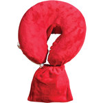 Spa Pocket - Face Cradle Slip Cover - Solid Microplush Red (229 1070 02)
