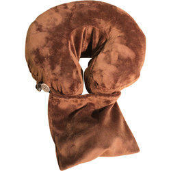 Spa Pocket - Face Cradle Slip Cover - Solid Microplush Mocha (229 1070 06)