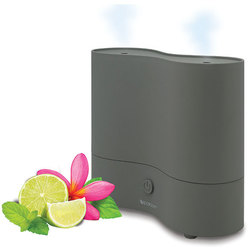 SpaRoom™ DuoMist™ - Dual Ultrasonic Diffusing Mister - Diffuse 2 Different Oils at Once! (254 0091)