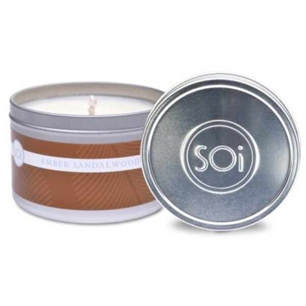Soi Candle AmberSandalwood - Burn Time 70 Hours 8 oz. (253 0081 01 01)