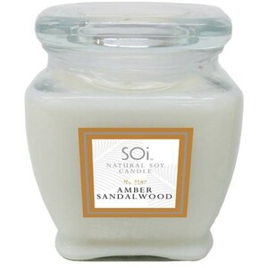 Soi Candle AmberSandalwood - Burn Time 140 Hours 18 oz. (253 0081 04 01)