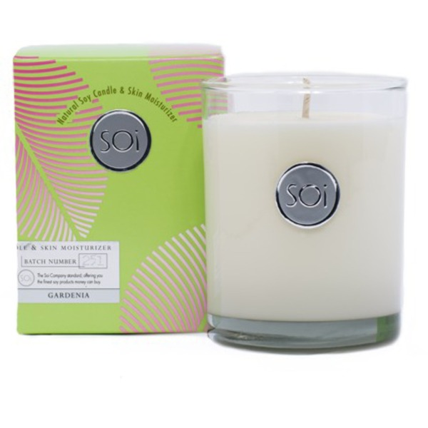 Soi Candle Gardenia - Burn Time 90 Hours 13.5 oz. (253 0081 02 09)