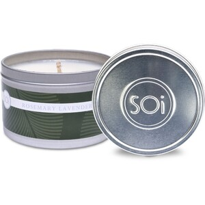 Soi Candle RosemaryLavender - Burn Time 70 Hours 8 oz. (253 0081 01 02)