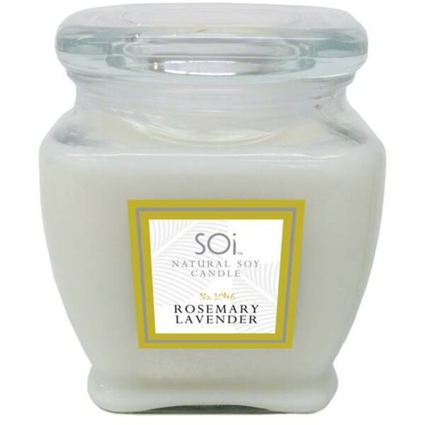 Soi Candle RosemaryLavender - Burn Time 140 Hours 18 oz. (253 0081 04 02)
