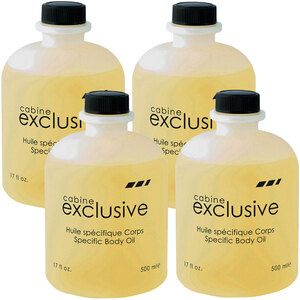 Silhouet-Tone Specific Body Oil Case of (4) 17 fl. oz. - 500 mL. Bottles = 67.6 oz. - 2 Liters Total