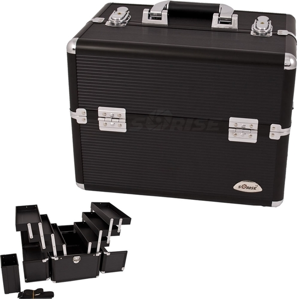3 Tiers Black Pro Makeup Case (C3000STAB)