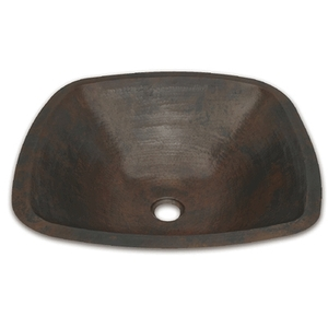 Copper Bath Sink by Pure Spa Copper Elements