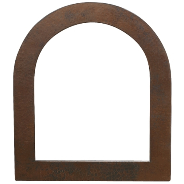 Arch Copper Mirror Frame by Pure Spa Copper Elements