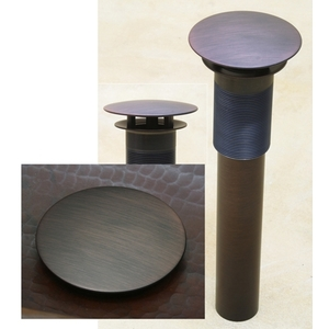 Bath Drain Round Umbrella Drain by Pure Spa Copper Elements