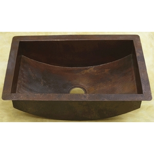Copper Trough Style Kitchen Sink LARGE by Pure Spa Copper Elements