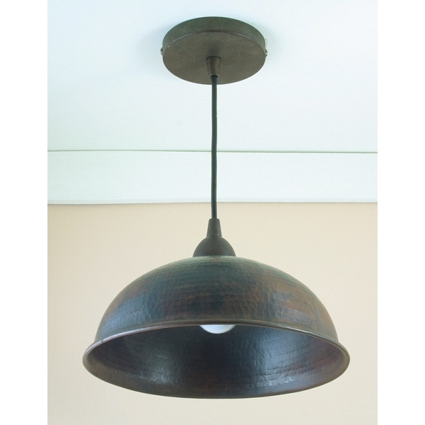 "Copper Pendant Light 10"" by Pure Spa Copper Elements"
