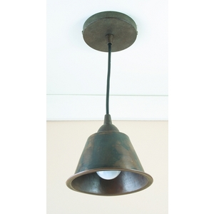 "Copper Pendant Light 6"" by Pure Spa Copper Elements"