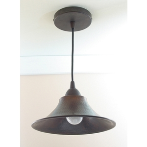 "Copper Pendant Light 9"" by Pure Spa Copper Elements"