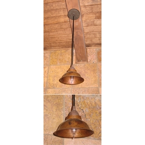 "Copper Pendant Light 6.25"" by Pure Spa Copper Elements"