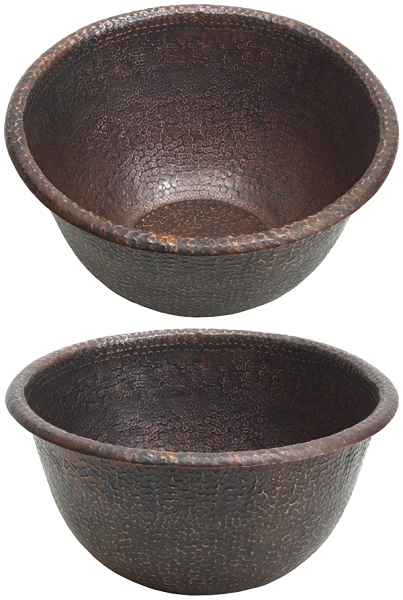Spa Foot Soak Copper Pedicure Bowl By Pure Spa Copper Elements