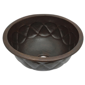 Copper BathBar Sink Basin by Pure Spa Copper Elements