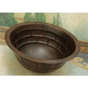 Copper Bath or Bar Sink by Pure Spa Copper Elements
