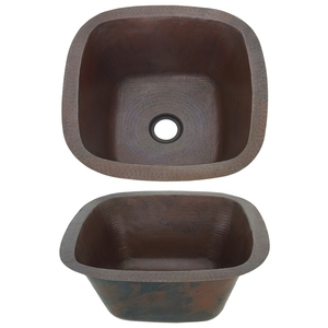 Copper Bar Prep Sink by Pure Spa Copper Elements