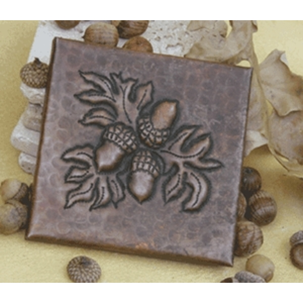 Acorn Copper Tile by Pure Spa Copper Elements