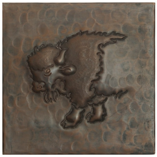 Buffalo Copper Tile by Pure Spa Copper Elements