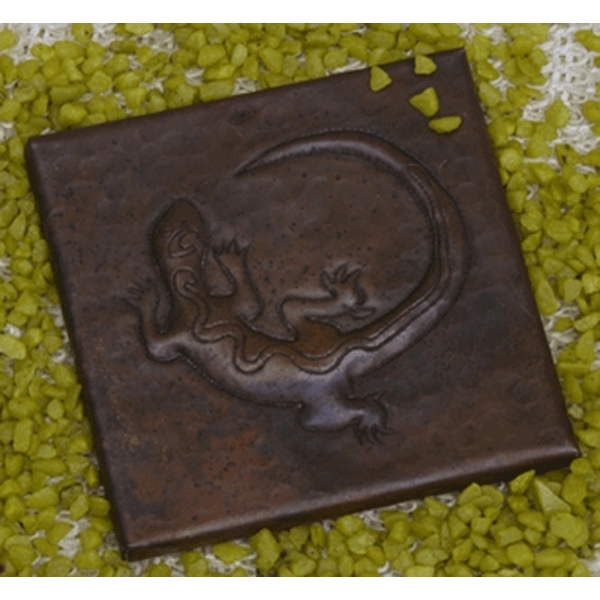 Copper Tile-Gecko by Pure Spa Copper Elements