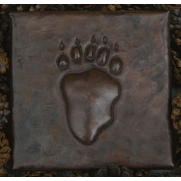 Bear Claw Copper Tile by Pure Spa Copper Elements