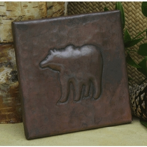 Bear Copper Tile by Pure Spa Copper Elements