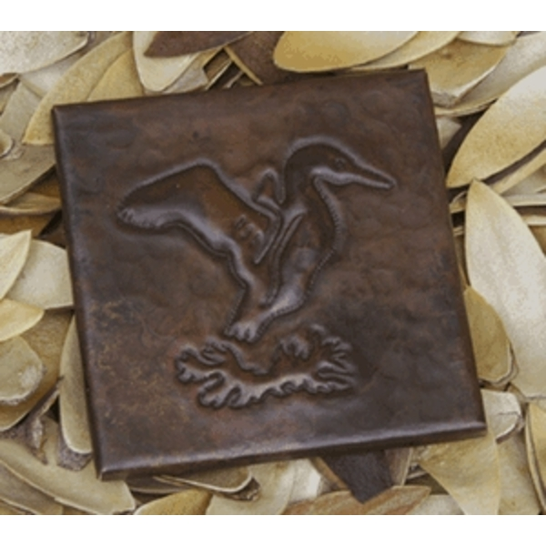 Flying Duck Copper Tile by Pure Spa Copper Elements