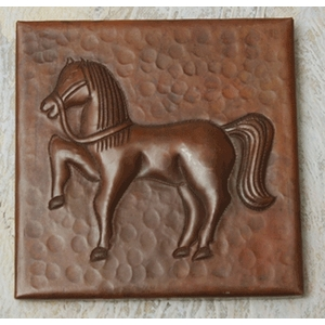Trojan Horse Copper Tile by Pure Spa Copper Elements