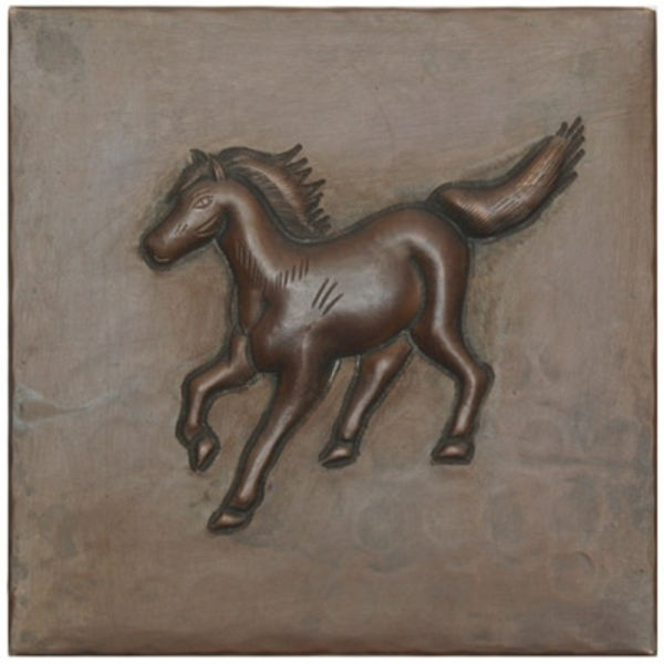 Running Colt Copper Tile by Pure Spa Copper Elements
