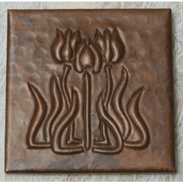 Arts and Crafts Copper Tile by Pure Spa Copper Elements